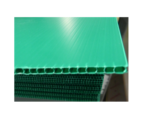 ✅ Placa de plástico coroplast calibre 3 mm. 550 g/m2  flauta abierta de 105x244cm
