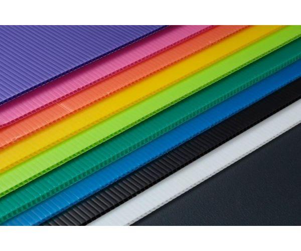 ✅ Hoja de corrugado calibre 3 mm. 550 g/m2  flauta abierta de 105x244cm
