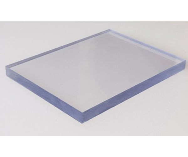 ✅ Lámina de Policarbonato Solido Lexán espesor de 12.7 mm  1.22  X 2.44 mt