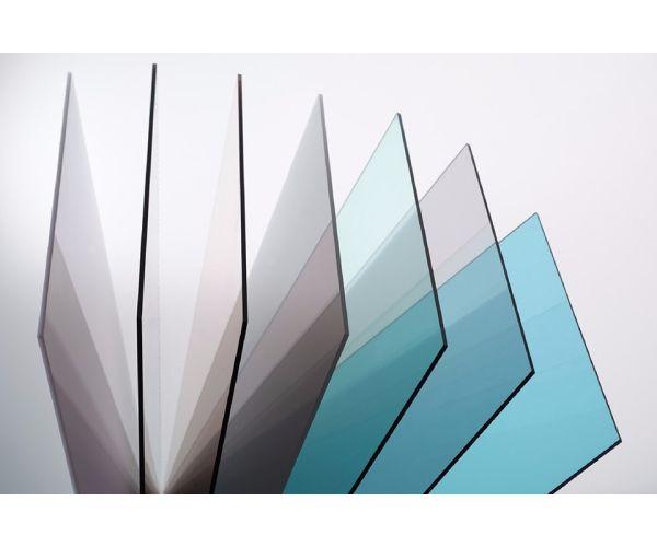 ✅ Placa de Policarbonato Solido contra rayos ultravioleta de 3 mm  1.83 X 2.44 mt
