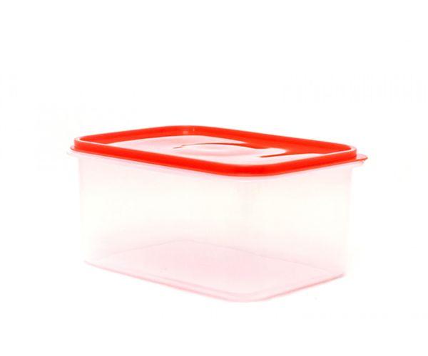 ✅ Caja de plástico con tapa hermética, Hermético Jumbo No. 1 Con Tapa