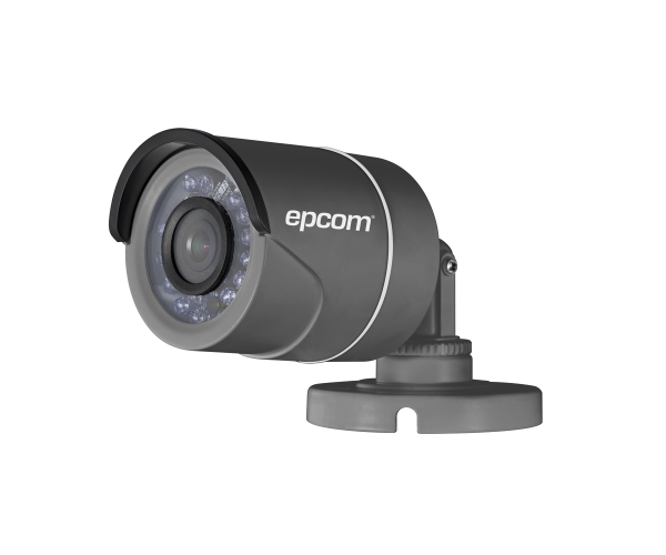 ✅ Cámara Bala TurboHD 720p / Analógica 1200 TVL / Hibrida / Lente 3.6 mm / 20 mts IR Inteligente / Color Gris / IP66