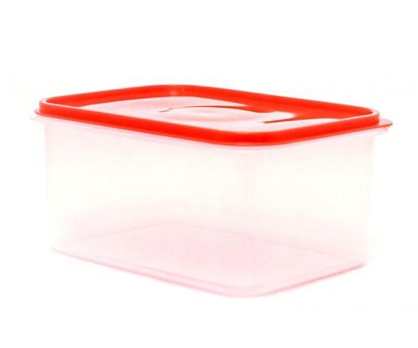 ✅ Cajas de plástico apilables para alimentos, Hermético Jumbo No. 5 Con Tapa