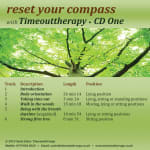 CD One Track Listing