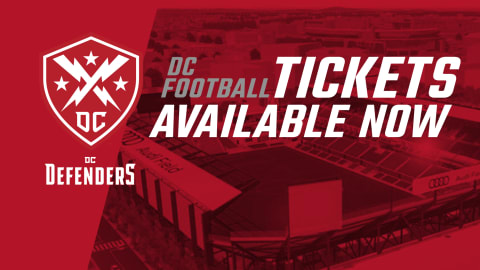 DC Defenders single tickets and season tickets on sale. Buy now!