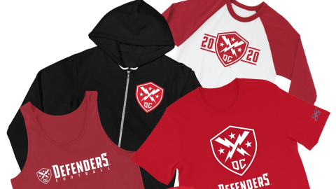 DC Defenders merchandise on sale. Shop now!