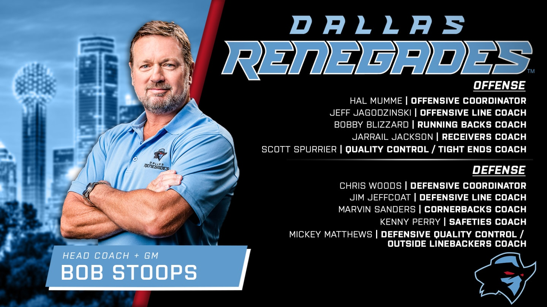 Dallas Renegades Roster