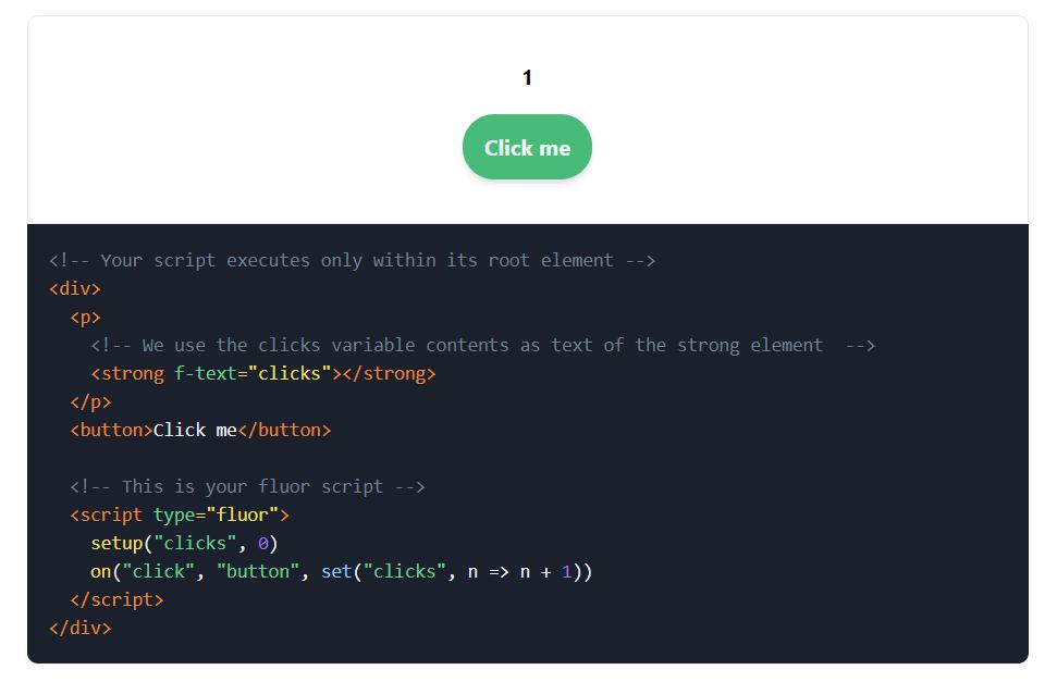 Fluor.js – скрипт позволяет добавлять взаимодействия и эффекты на сайте