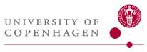 University .of Copenhagen