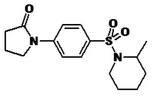 Image thumbnail for AKR1C3 inhibitor CRT0083914 Small Molecule (Tool Compound)