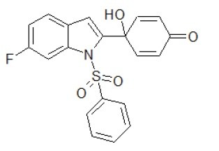 Image thumbnail for Antitumoral Quinol1h Small Molecule (Tool Compound)