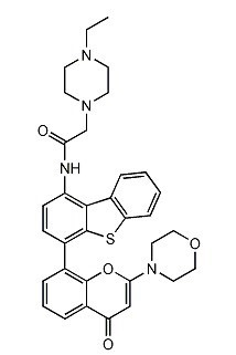 Image thumbnail for Dual DNA-PK/PI3K inhibitor KU-0060648 Small Molecule (Tool Compound)