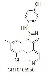 Image thumbnail for LIMK inhibitor CRT0105950 Small Molecule (Tool Compound)