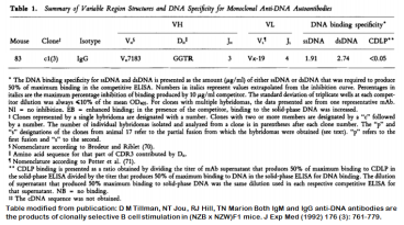 Image for Anti-DNA [m83-c1] monoclonal antibody