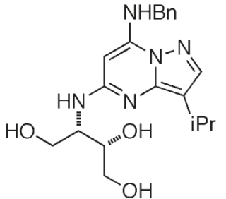Molecular structure of BS-194