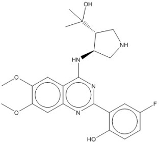 Image for Chk2 inhibitor  CCT241533 Small Molecule (Tool Compound)