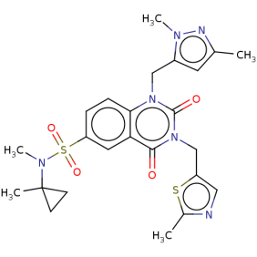 Image for PARG inhibitor PDD00031704 Inactive Small Molecule (Tool Compound)