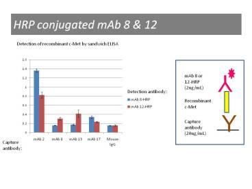 ELISA using anti-c-Met [12.1]