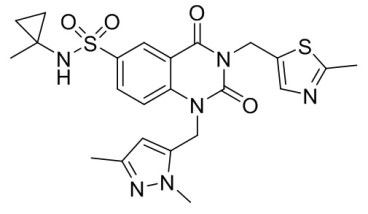Chemical structure of PDD00017273