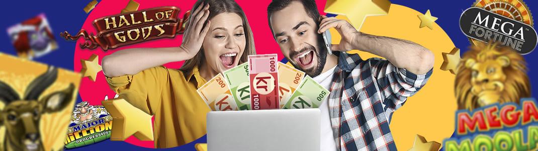 slots progressiva jackpottar