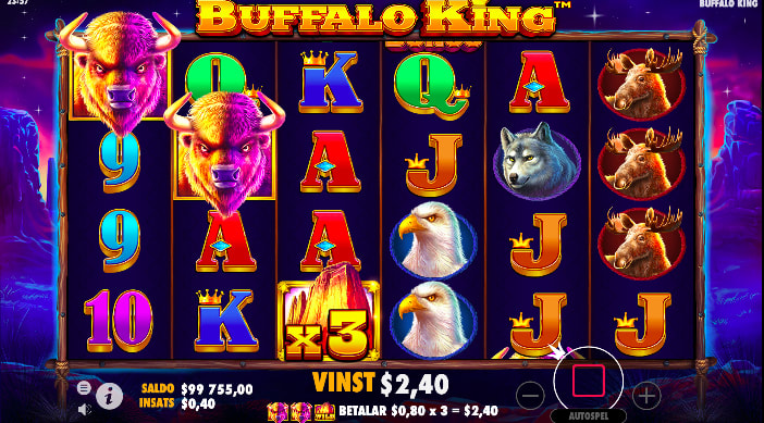 Buffalo I Freespins