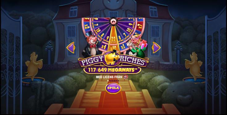 Piggy Riches Intro