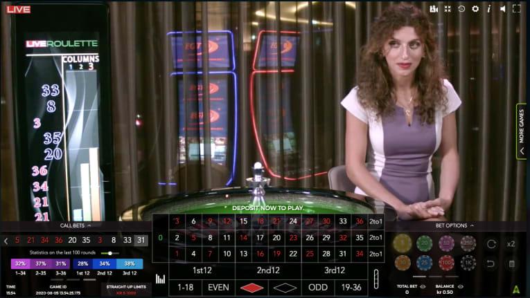 Autentic gaming roulette