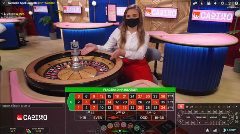 nya casinon livespel