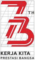 Logo 73 tahun Kemerdekaan RI