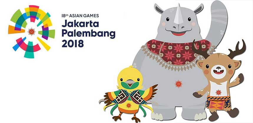 Energy Of Asia, Asian Games 2018 icon/maskot Asian Games 2018