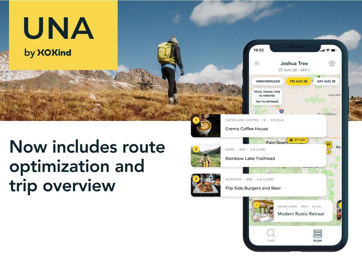 Una is adding route optimization