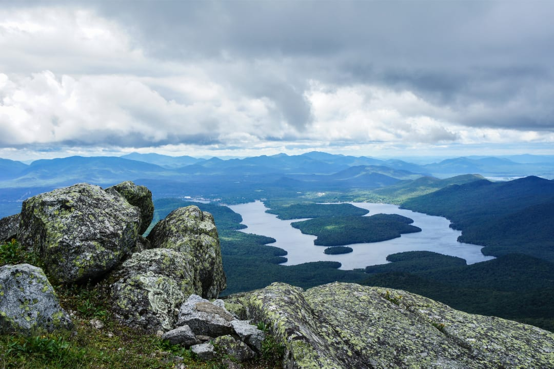 Labor Day Weekend in the Adirondack Mountains