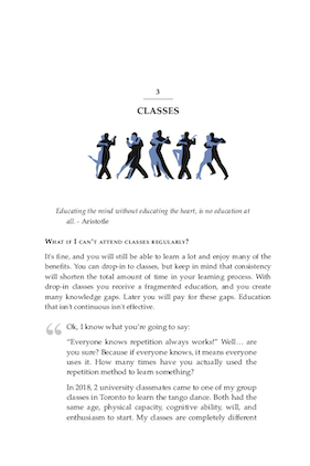 Tango Secrets book what is a tango dance