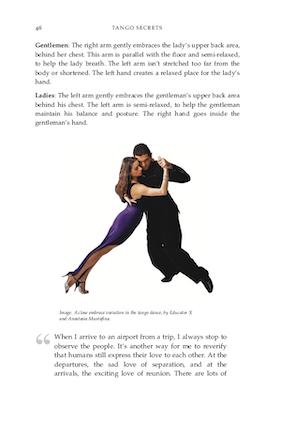 Tango Secrets book meaning of tango dance