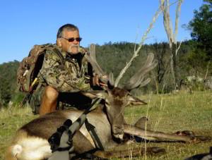 Ted's velvet stag shot for meat