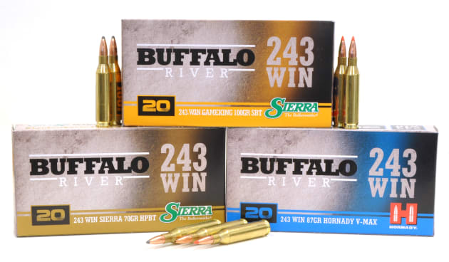 NEW Buffalo River  243 Ammunition - Sporting Shooter