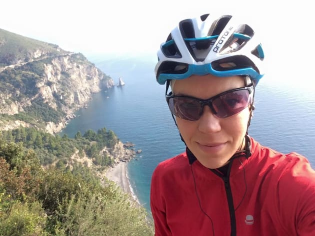 Juliana Buhring is a world-renowned ultra endurance cyclist - she has competed the toughest long-distances races on Earth. Image: Supplied.