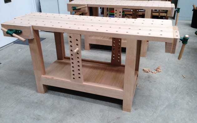 Make A Roubo Style Workbench Australian Wood Review