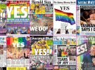 Newspaper front pages celebrate Yes vote, but not Daily Telegraph