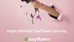 The Core Agency launches fresh campaign for EASYFLOWERS