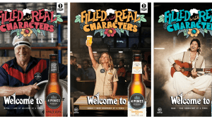 Real characters bring 4 Pines Brewing Co summer campaign to life