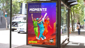 KFC Big Bash League turns technicolour in campaign from Apparent