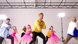 Ronald McDonald House dance for sick kids campaign via Swingtime Creative