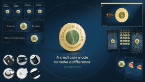 The Royal Australian Mint creates millions of new ways to donate via Saatchi & Saatchi