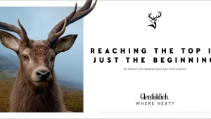 Glenfiddich asks 'Where Next?' in global campaign