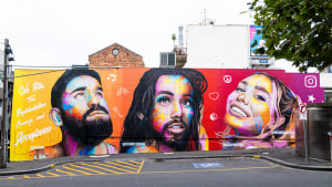 Instagram unveils street art installations for Mardi Gras
