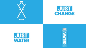 JUST Water asks Aussies to JUST Change, via M&C Saatchi FABRIC