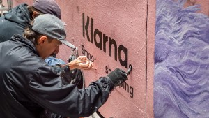 Klarna turns street posters into instant-win prize machines via Thinkerbell