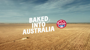 Tip Top celebrates being 'Baked in Australia' via BMF