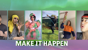 Clemenger BBDO Sydney 'Makes it Happen' for V Energy on TikTok